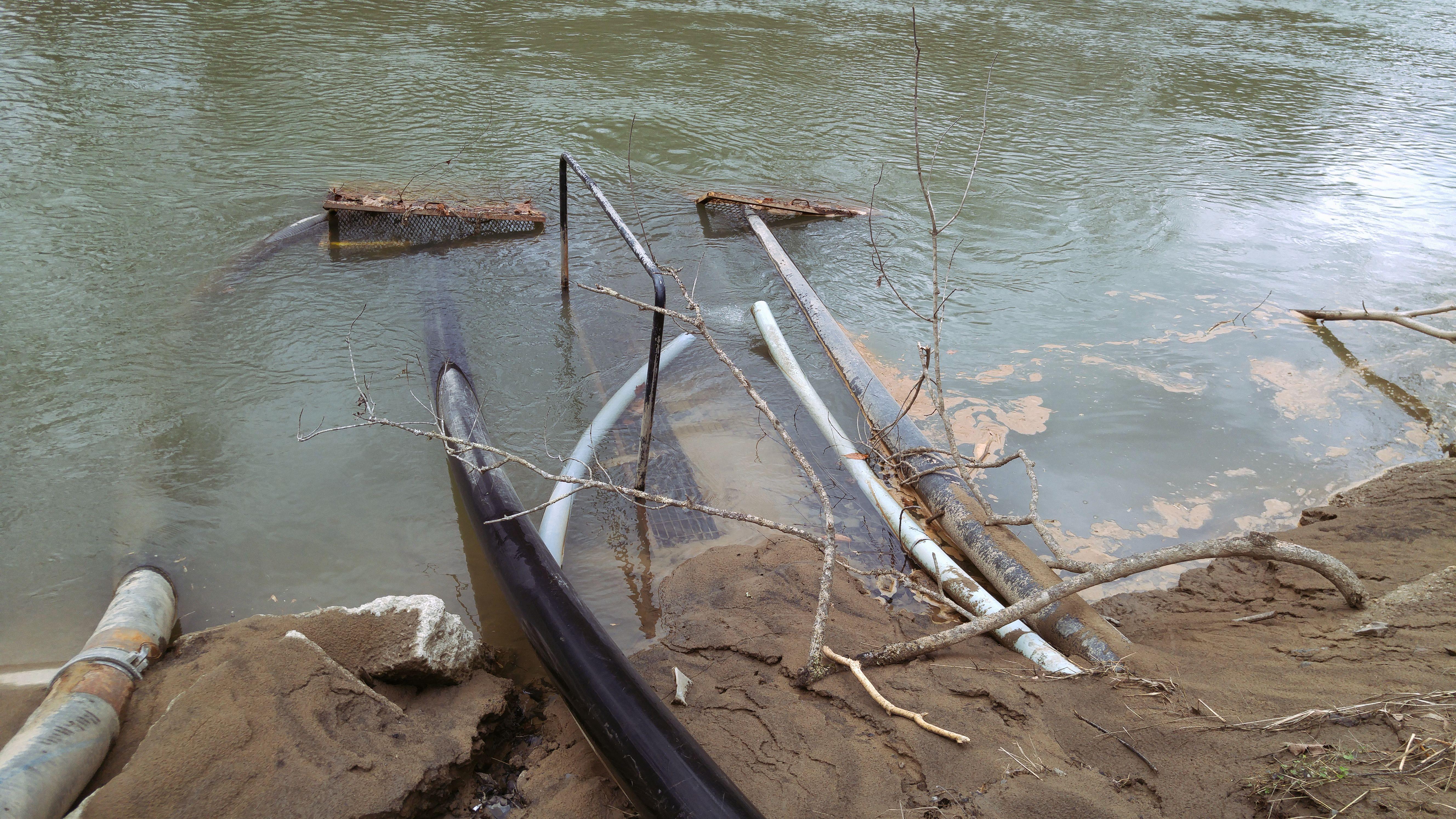 Water Intake on Tug Fork 0112171431