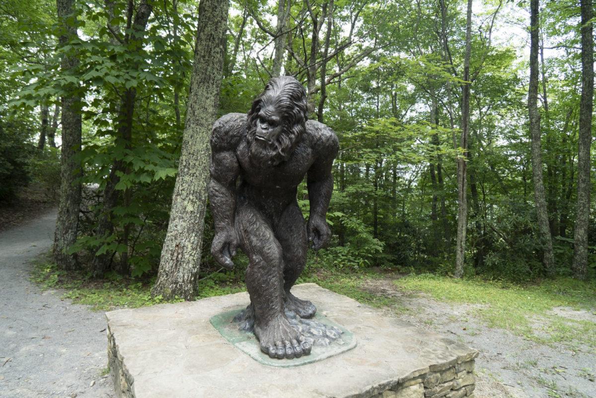 woodbooger statue